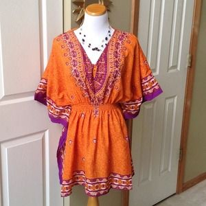 Orange/Purple Tunic