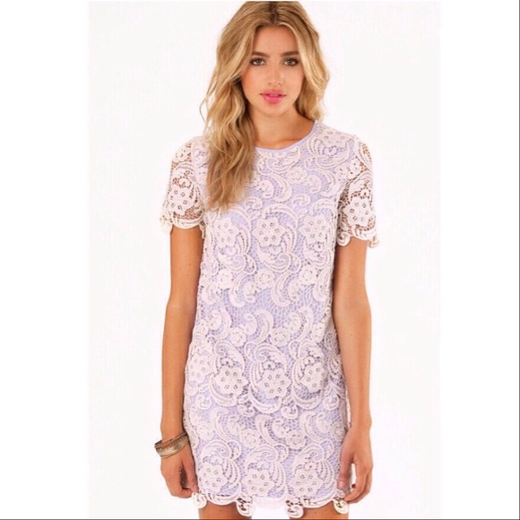 Lace Lavender Dress