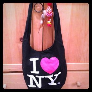 Handbags - I love NY shoulder bag!