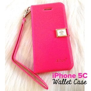 iPhone 5C Wallet Case