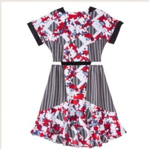Peter Pilotto for target Red print dress