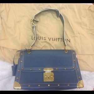 Authentic Louis Vuitton Suhali Leather Bag