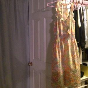 Never worn Rebecca Taylor silk dress size 10
