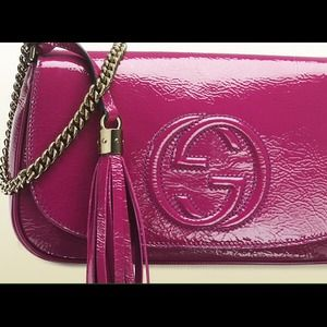 Gucci Handbags - Gucci Disco fuchsia pink Soho Authentic