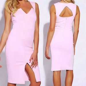 ⭐️NWT⭐️ LAST ONE Pink Square Sweetheart Neck Dress