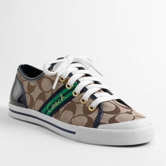 Blue Sneaker Shoe