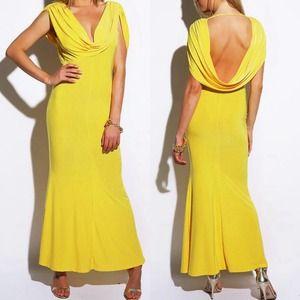 ⭐️NWT⭐️ Sunny Yellow Maxi Dress