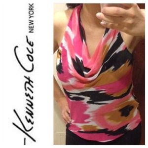 Kenneth Cole NY halter style top