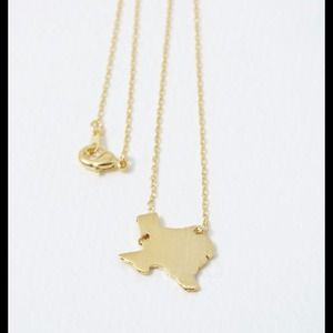 Hannah Beury Jewelry - Gold Texas Necklace