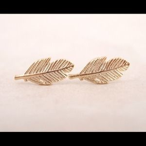 Hannah Beury Jewelry - Fallen Leaves Earrings