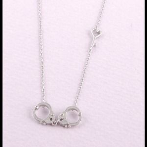 Hannah Beury Jewelry - Silver Handcuff Necklace