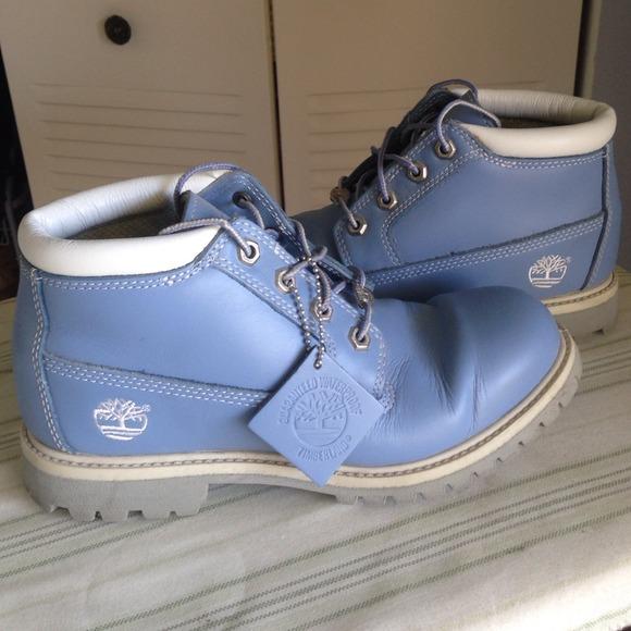Baby Blue Timberlands Waterproof Boots. M 532c4cce88e3c60e290e2990 0aabdde3e0b9