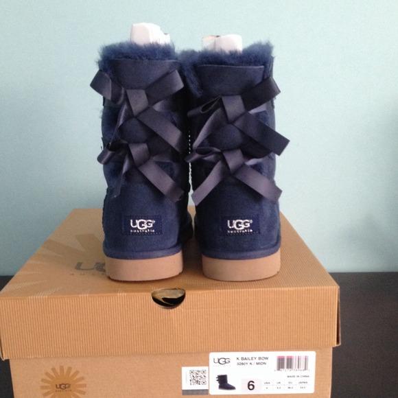 94104a05c6d aliexpress ugg bailey bow navy blue 19c79 2eb41