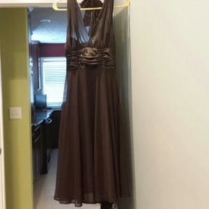 connected apparel Dresses & Skirts - Brown sleeveless dress