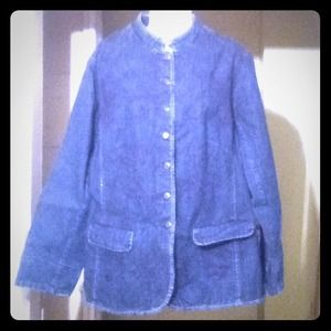Coldwater Creek Embroidered Jacket, NWT & 50% Off!