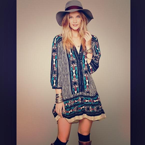 Arrow Henley Tribal Dress