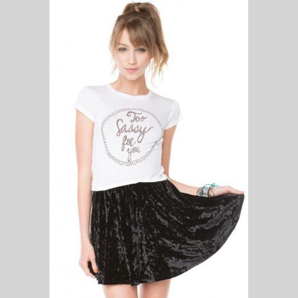 62% off Brandy Melville Dresses & Skirts - Brandy Melville Black ...