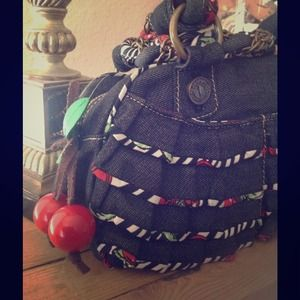 """Betseyville"" by Betsey Johnson cherry purse."