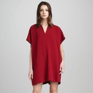 Limited time discount! DVF red squaretan dress.