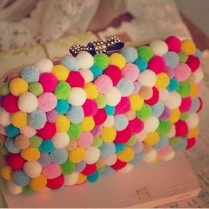 Clutches & Wallets - 🌈Rainbow Colored Candy Box Clutch🌈