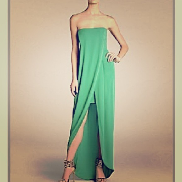 BCBGMaxAzria Dresses | Emerald Green Bcbg Dress | Poshmark
