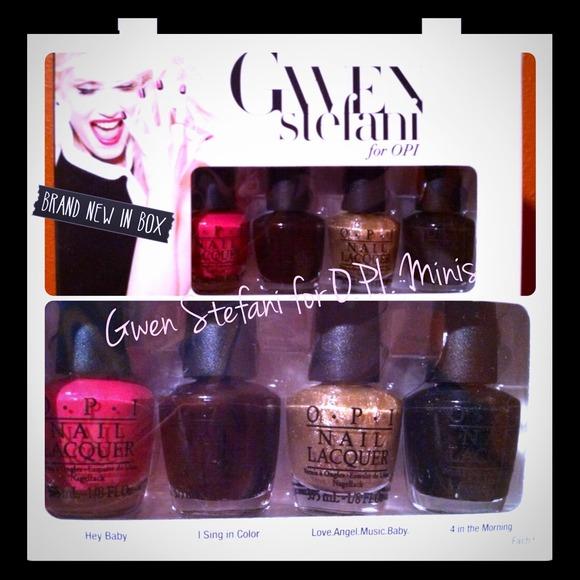 O. P. I. Other   Gwen Stefani For O P I Mini Nail Lacquers   Poshmark