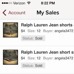 Jeans - 2 pairs of shorts