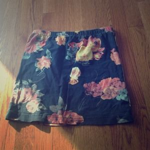 Urban outfitters insight floral skirt