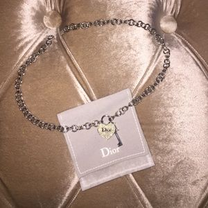 Authentic heart Dior Necklace