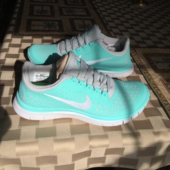 Nike free run 3.0 v4 mint green Tiffany blue 2e558de8ccfe