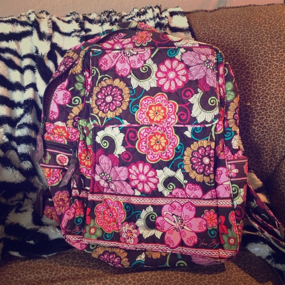 Vera Bradley Bags Mod Floral Pink Backpack Retired