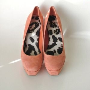 Jessica Simpson Shoes - Jessica Simpson Blush Suede Pumps 2