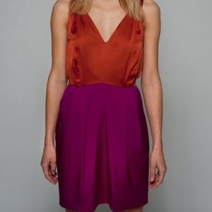 Cluny Color Block Dress, Size 8