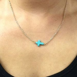 Jewelry - Mini Cross Necklace