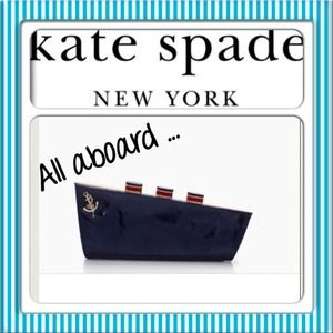 Authentxc Kate Spade Clutch