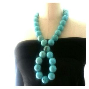 *REDUCED* Handmade real turquoise necklace