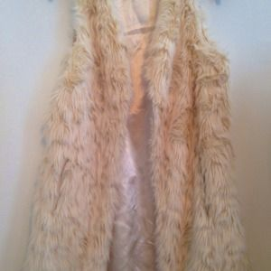Faux fur vest REDUCED