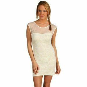 NWT Free People Ivory  Starlight dress