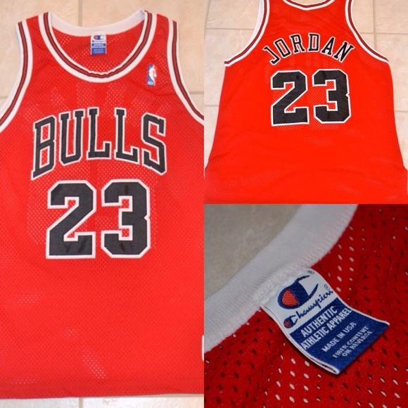 quality design 3ee11 7fce9 MICHAEL JORDAN #23Chicago Bulls Authentic Jersey