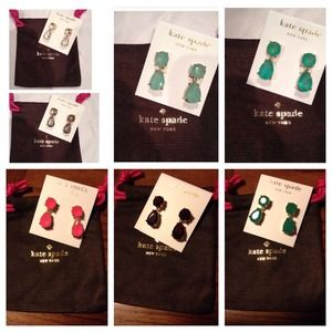 Restocked! NWT! Kate Spade drop earrings