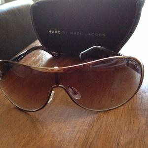 MARC BY MARC JACOBS chrome sunglasses