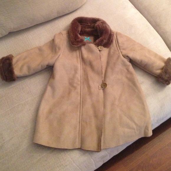 Zara - SOLD Baby Zara Shearling Coat from T's closet on Poshmark