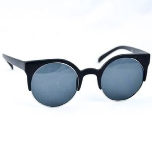 Faye shades (matte black/nickel)