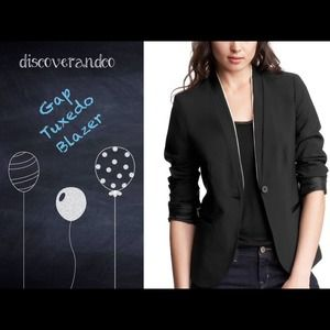 GAP Jackets & Blazers - 🎉HOST PICK 🎉 NWOT Gap Tuxedo Blazer, 2