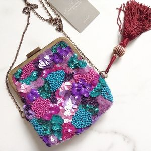 Anthropologie Handbags - Anthropologie bornite cross body