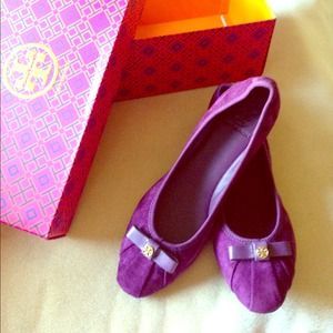 reducedTory Burch Ally suede flat