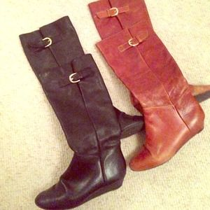 Steve Madden Intyce boots - lot of 2