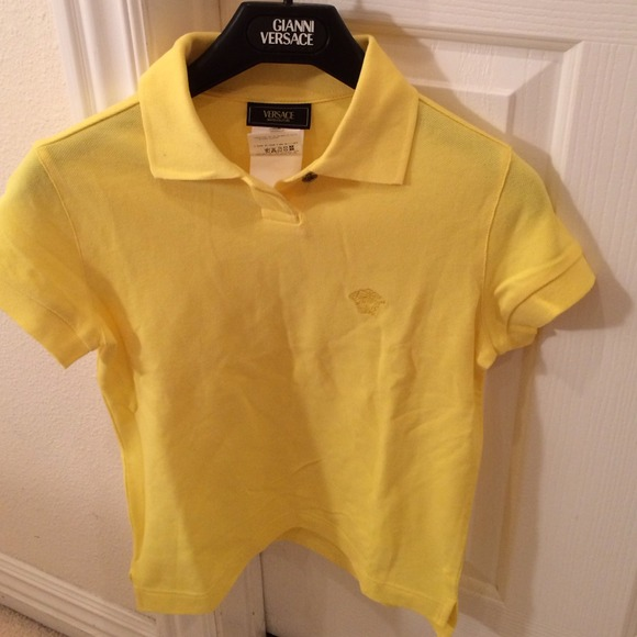 66fa4004 Versace Tops | Sale Authentic Jeans Couture Polo | Poshmark