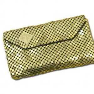 Felix Rey Gold Chainmail Clutch