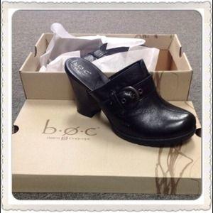 903302f8ad5b b.o.c. Born O Concept Shoes - 🌹SALE🌹b.o.c. Black Leather Clog